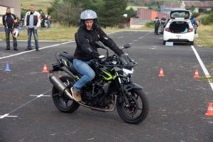 40 motards sensibilisés toute une journée à la sécurité routière