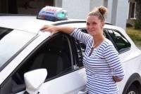Saint-Agrève : Laura Soubeyrand est devenue chauffeur de taxi