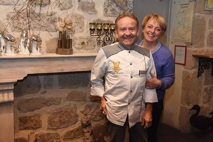André et Viviane Chatelard
