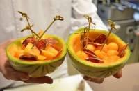 La recette du chef : coupe de melon au chorizo et hydromel