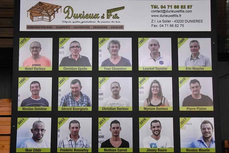 L'entreprise compte 15 salariés.