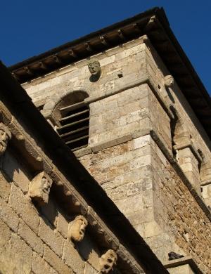 Le clocher de Saint-Victor-sur-ArlancCrédit DR