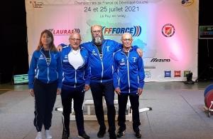 Véronique Descours, Alain Collard, Didier Egels et Jean Bonnefoy