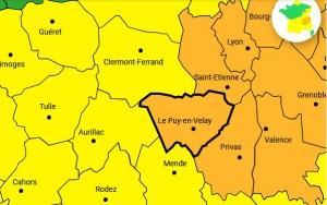 Orages : la Haute-Loire, la Loire et l'Ardèche en vigilance orange