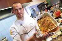 Rémy Michelas a cuisiné un tian de légumes.