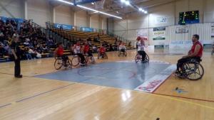 Handibasket : victoire importante des Aigles face à Toulouse