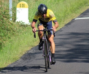 Cyclisme : Serge Mayet vainqueur à Mauzun