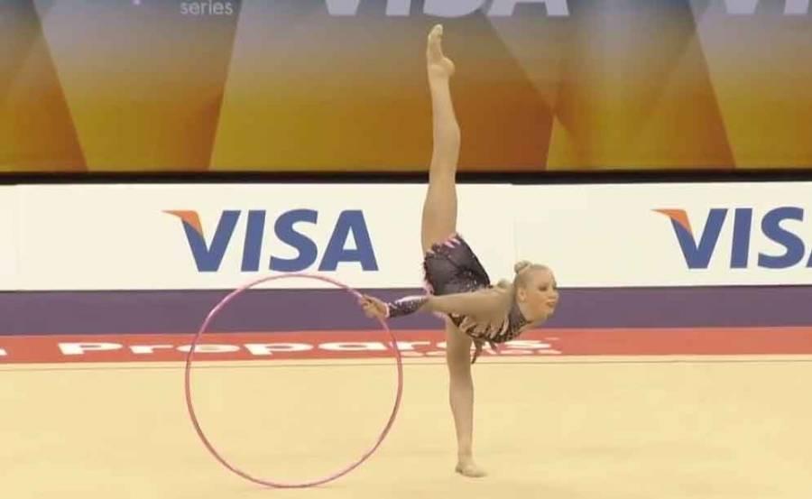 Une championne de gymnastique rythmique attendue dimanche à Monistrol-sur-Loire