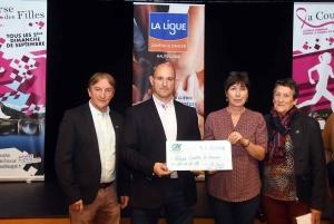 Brives-Charensac : un chèque de 31 000 euros grâce à la Course des filles