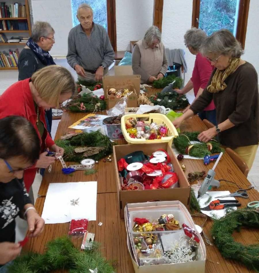 Mazet-Saint-Voy : le marché de Noël en pleine préparation