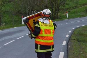 Saint-Bonnet-le-Froid : deux occupantes coincées dans une voiture accidentée