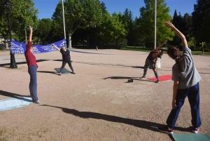 Puy-en-Velay : des espaces de sport fleurissent au jardin Henri-Vinay