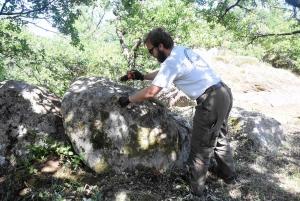Monistrol-sur-Loire : une campagne de fouilles archéologiques du château vieux en préparation