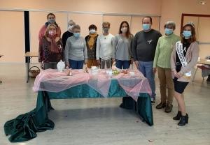 Miss Saint-Agrève et Bon Air-Bon Art apportent leur contribution à Octobre rose