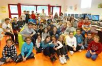 Saint-Just-Malmont : les écoliers de La Communale ont rencontré Marion Achard