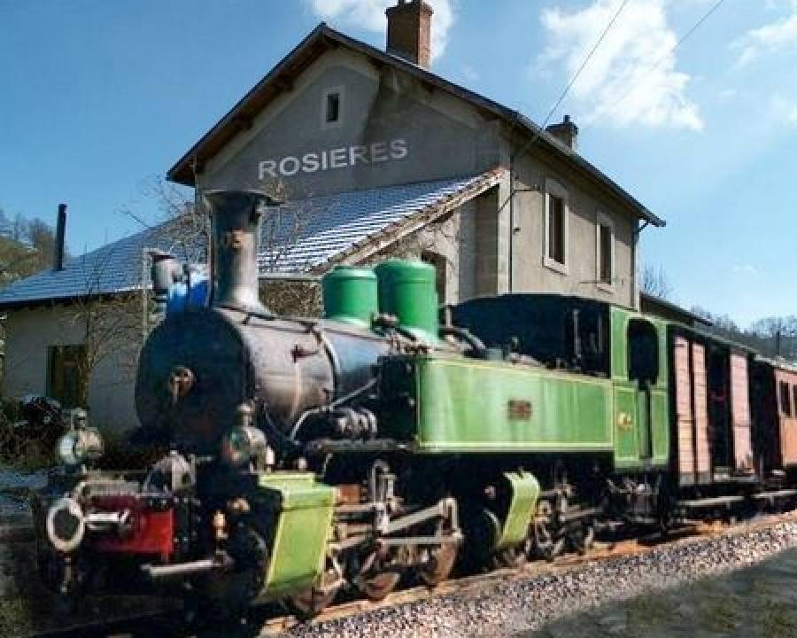 Le train au centre d'une série d'animations en Emblavez