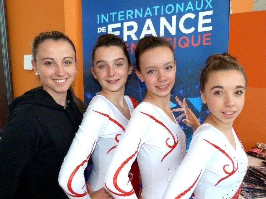 Aérobic : trois gymnastes yssingelaises 17e aux championnats de France