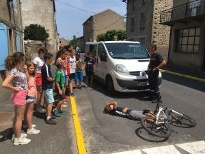 Saint-Maurice-de-Lignon : des écoliers du Sacré-Coeur formés par un pompier professionnel