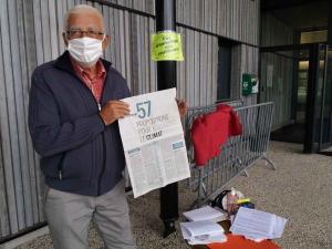 Lantriac : le Collectif valorisons nos déchets en action avant le conseil communautaire