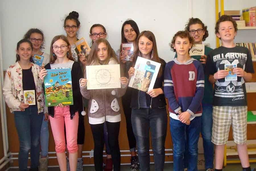 Tence : les latinistes de la Lionchère primés à un concours régional