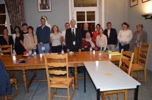 Loudes : le maire Laurent Barbalat entouré de quatre adjoints