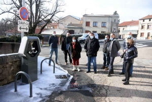 Saint-Didier-en-Velay : une borne électrique pour véhicules installée en ville