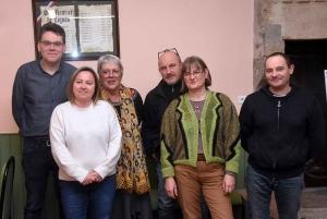 Jérôme Pascal, Laure Bayon, Marie-Aimée Devun, Pascal Merle, Isabelle Servel et Bruno Habauzit.