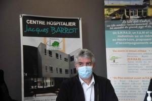 Pierre Liogier, maire d'Yssingeaux et président du conseil de surveillance de l'hôpital Jacques-Barrot