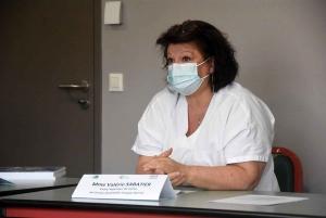 Valérie Sabatier, cadre supérieur de santé à l'hôpital d'Yssingeaux