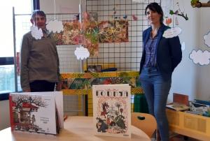 Espaly-Saint-Marcel : le peintre Alain Berger expose ses oeuvres à la médiathèque