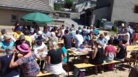 Freycenet-la-Tour : un pique-nique autour du four à pain