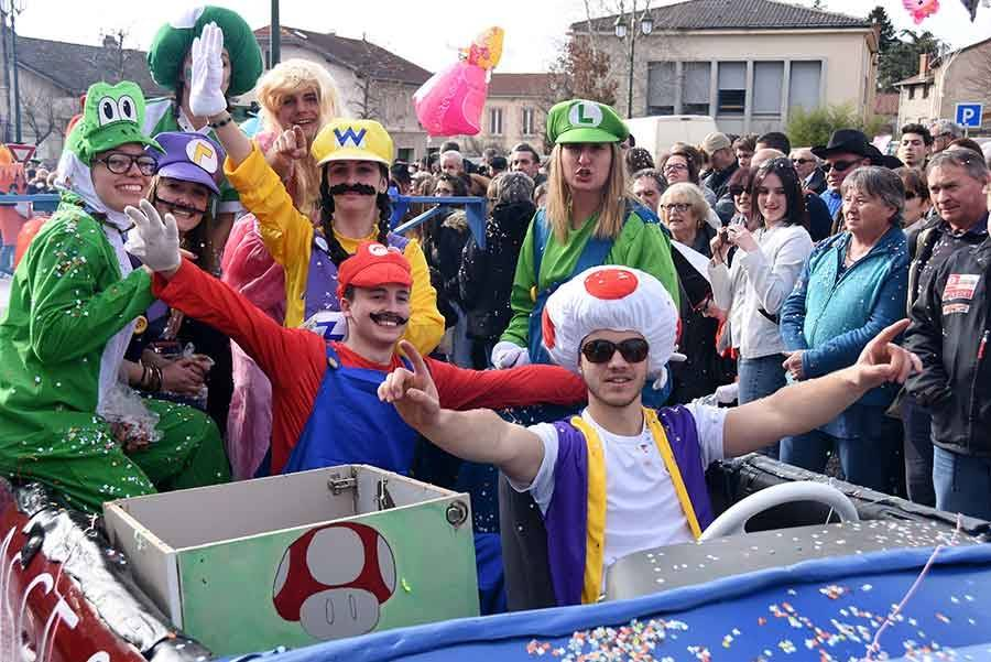 Saint-Didier-en-Velay : un 50e carnaval de toute beauté (photos et vidéo)
