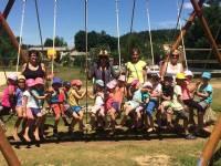 Montfaucon-en-Velay : les écoliers à la base de loisirs du Neyrial à Yssingeaux