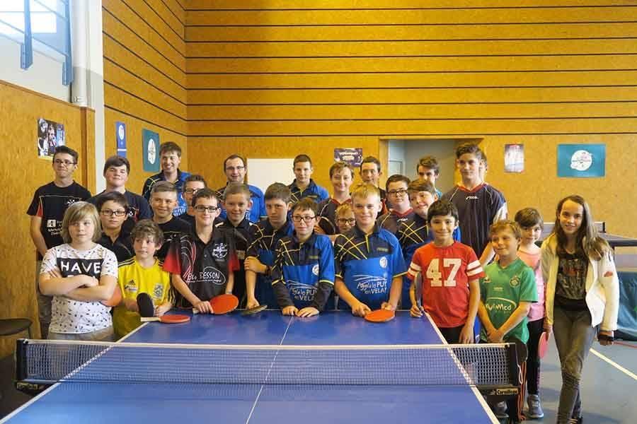 Tennis de table : dernier tour du Critérium fédéral pour les pongistes de Haute-Loire