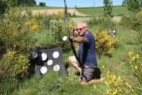 Le but est de tirer sur des cibles et de neutraliser ses adversaires en les atteignant avec la flèche adaptée au tir sur personne.