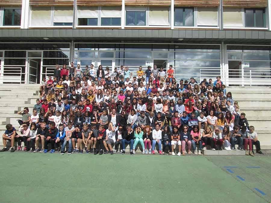 Les élèves de 6e