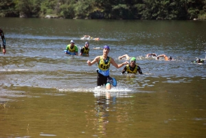 Aurec-sur-Loire : le premier Swimrun des gorges de la Loire a affiché complet
