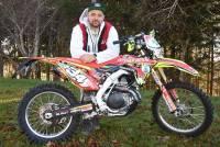 Chambon-sur-Lignon : Sébastien Valla repart en moto sur le Trophée Andros
