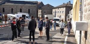 Tence: les élèves de retour au collège Saint-Martin