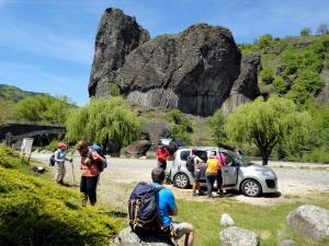 Monistrol-sur-Loire : le club de randonnée en itinérance dans les gorges de l'Allier
