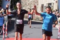 Jérôme Cachard et Fabien Russier, 2e sur 31 km en relais