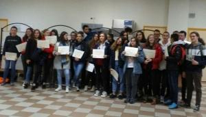 Tence : une remise républicaine de diplômes au collège de la Lionchère