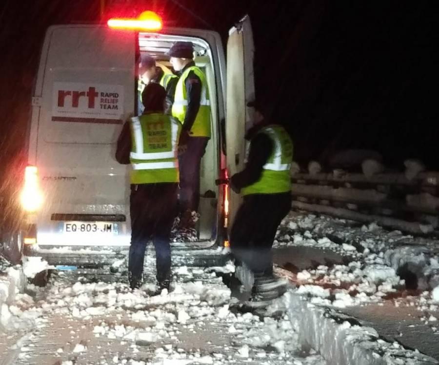 Quand une association du Chambon-sur-Lignon et Saint-Etienne vient en aide aux naufragés de la RN88