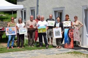 Chaudeyrolles : 12 artistes réunis l'espace du week-end