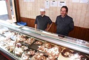 Saint-Germain-Laprade : un éleveur bio et un boucher s'associent pour ouvrir une boucherie
