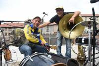 Junkyard Crew, alias Manouche Fournier et son compère Jean Crozat.