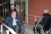 Le temps d'une soirée, ils se sont mis à la place de personnes handicapées