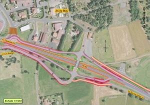 Plaine de Bleu à Polignac : la route ferme jusqu'à la fin de l'année, une déviation en place