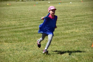 Saint-Etienne-Lardeyrol : trois écoles participent à des activités athlétiques
