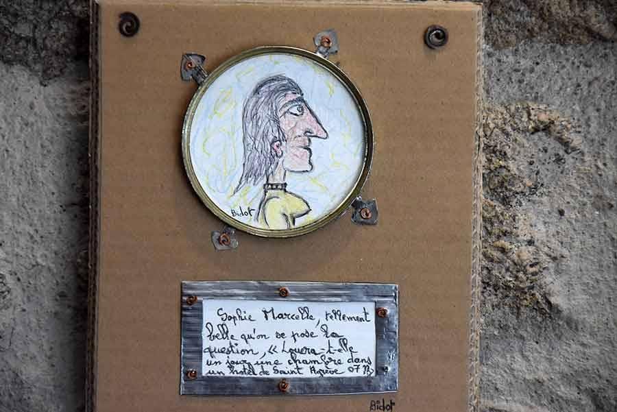Saint-Agrève : Bidot l'artiste est l'invité de l'Auberge des Cévennes